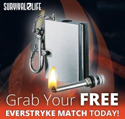 The Everstryke Match: Contains the ferro rod and wick in one all-inclusive fire starting kit that fits conveniently in your pocket. Ferro rod strikes at over 3000 degrees and flame burns at over 600 degrees Fahrenheit Each match is capable of 15,000 long burning strikes.